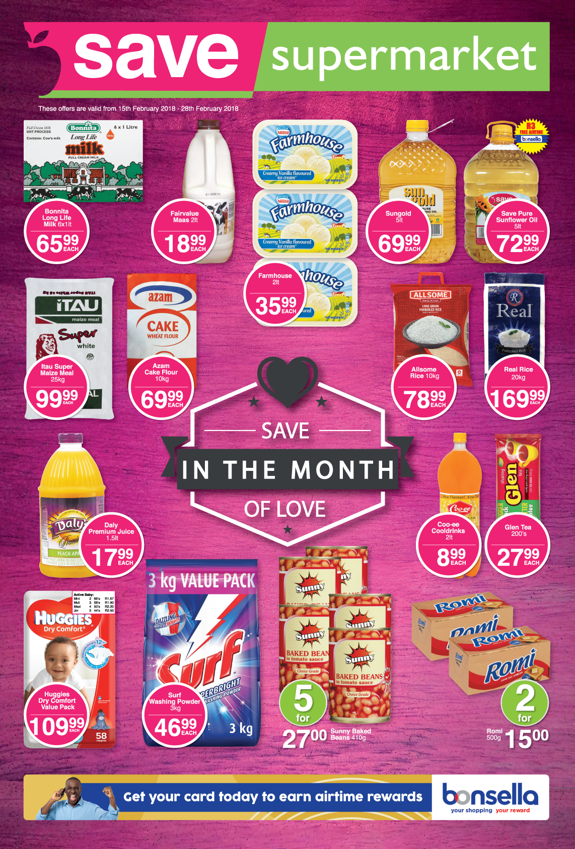 Save Supermarket Howick/Dalton Specials - until 28th February 2018