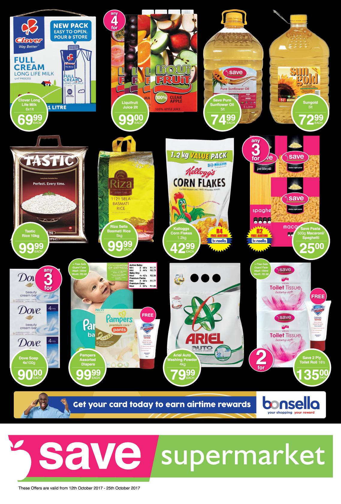 Save Supermarket Brickfield / Truro Specials - until 25th October 2017