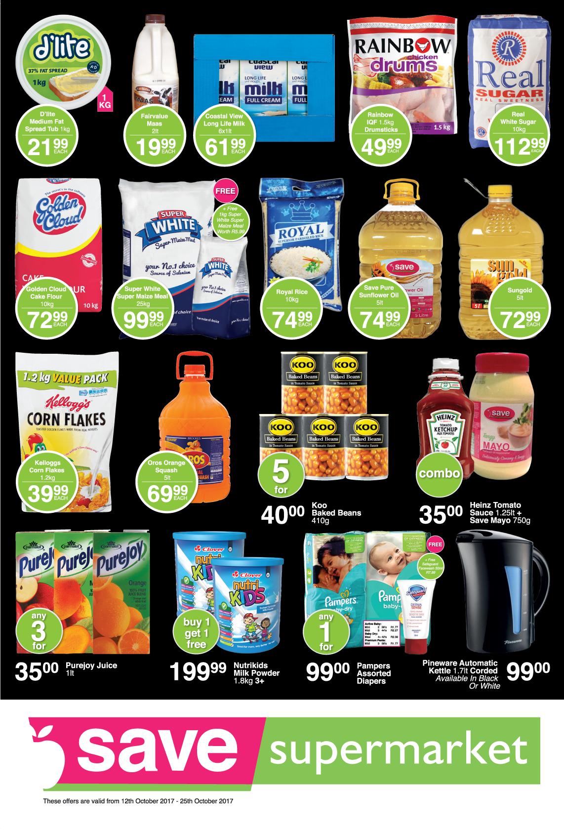 Save Supermarket Church Specials - until 25th October 2017
