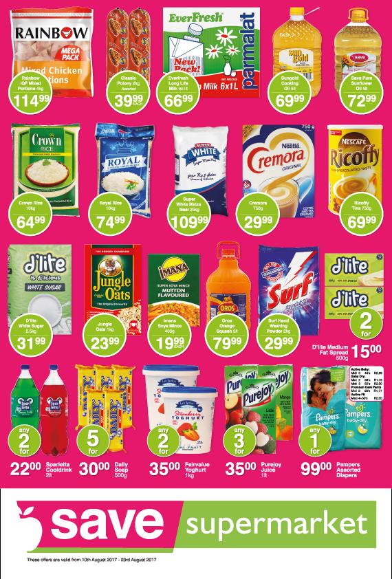 Save Supermarket Church Specials - until 23rd August 2017