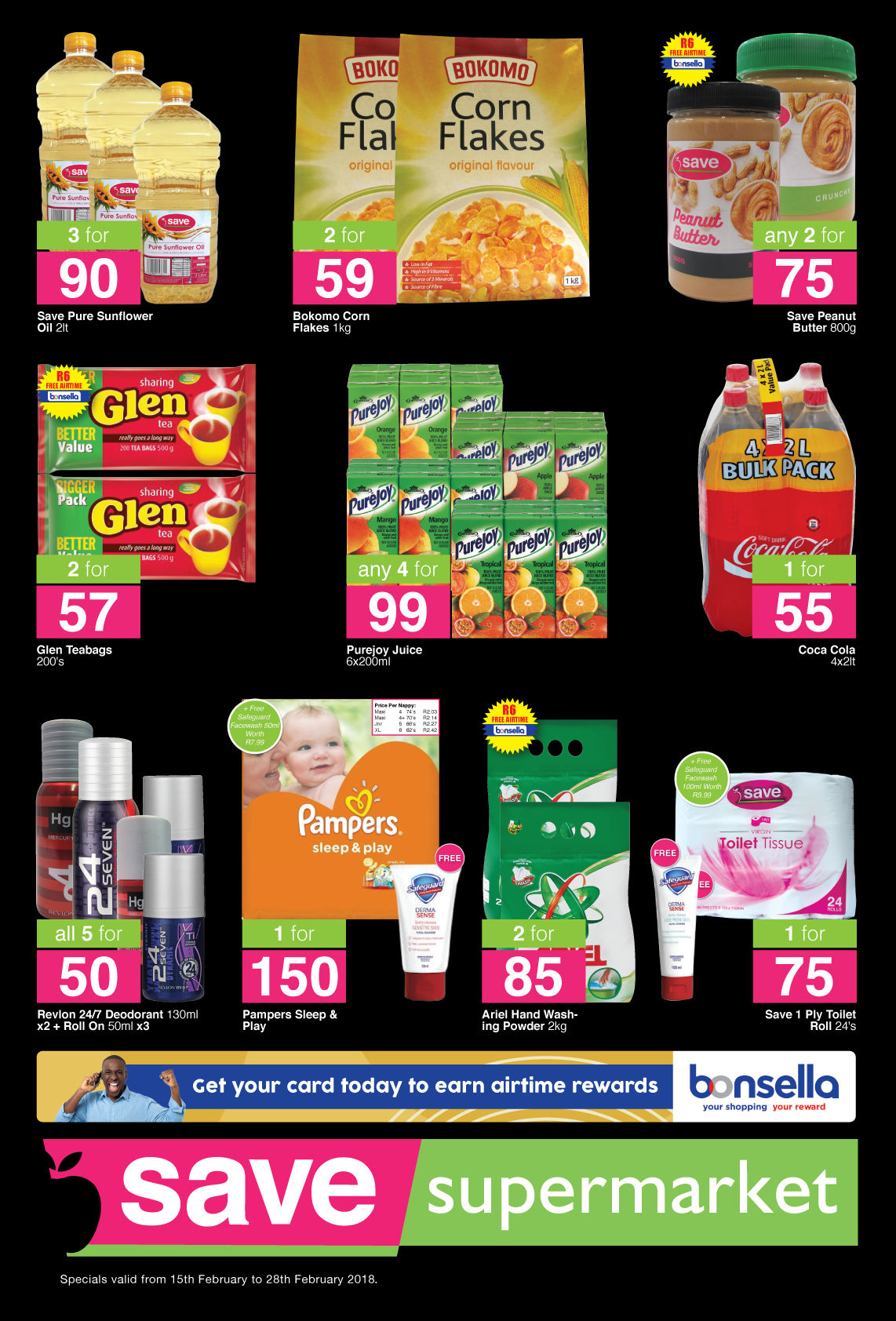 Save Supermarket West Street Specials - until 28th February 2018