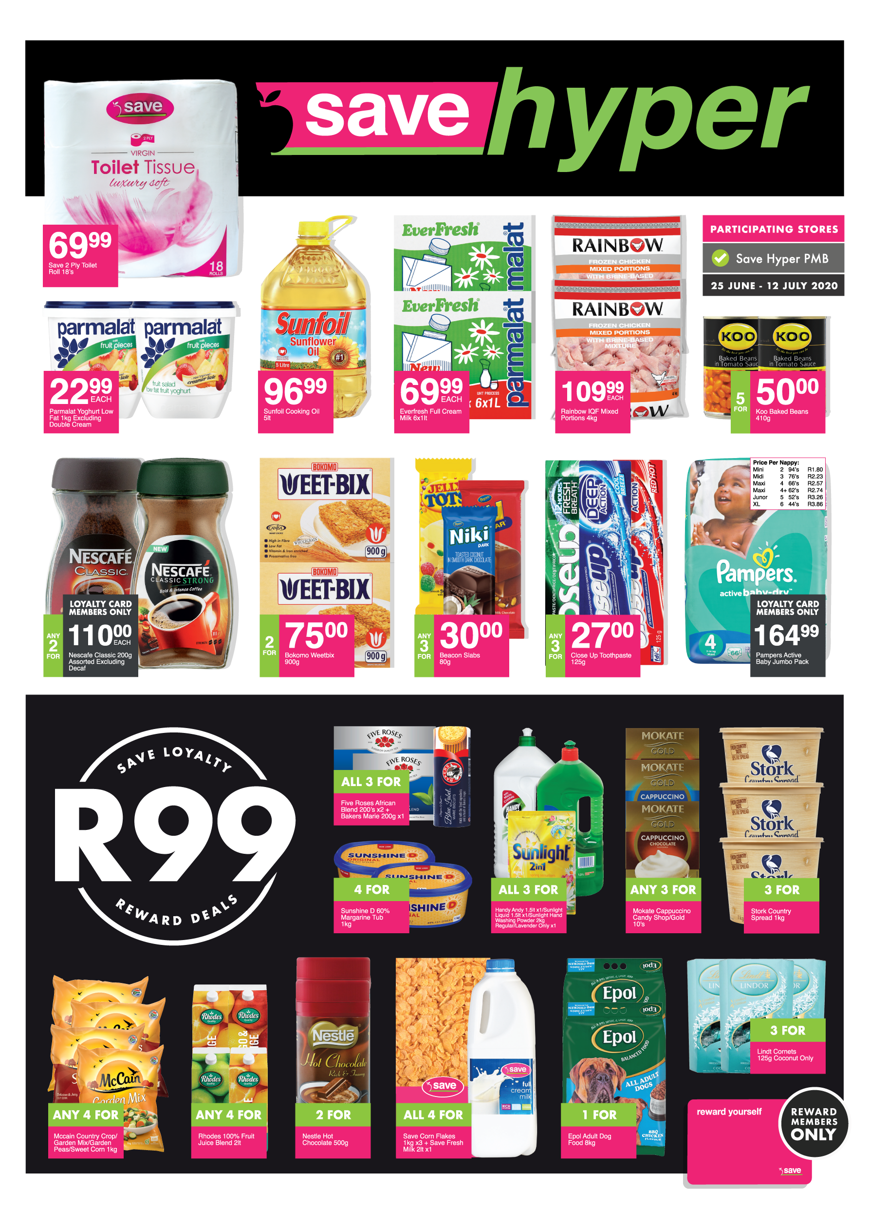 Hyper Specials <br> - valid from 25 June<br>until 12 July 2020